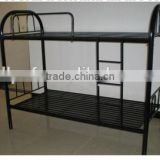 School furniture dormitory bunk bed /strong steel frame bunk bed /wholesale dormitory two floors beds