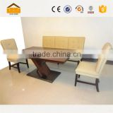Top quality of modern dining table and chair