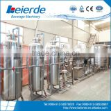 2,000 Litres water treatment system for mineral water, distll water, CSD, juice and sparking water