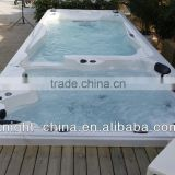 Luxury 7.5M European Style Large Outdoor Swim Spa/swim tub/spa tub with Balboa system                                                                         Quality Choice