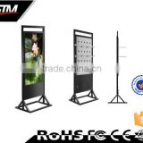 led advertising sign board customize kiosk stands 55 inch pc all in one advertising player