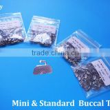 Manufacturer with CE FDA orthodontic Standard Convertible and Non-convertible 1st Molar Bondable Buccal tubes