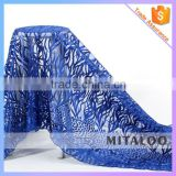 Mitaloo MFL1115 African Royal Blue Lace Fabric Wholesales French Lace Mesh