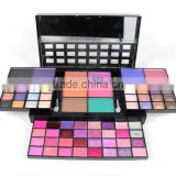 high quality competitive price hot sale cosmetic makeup palette empty single eyeshadow case