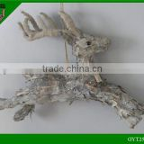 Festival natural material birch Christmas deer