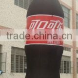cheap inflatable coca cola bottle / inflatable bottle model for promition
