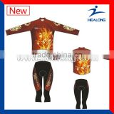 Slim Fit Sublimated Cycling Jacket