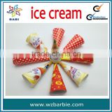 customer ice cream cone paper sleeves