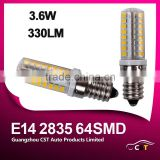 Factory Offer Best Price Led Light Bulb E14 2835 64SMD AC 110-130V/220-240V 330LM Super Bright E14 Led Light Bulb
