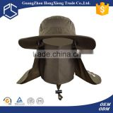 Alibaba Trade Assurance custom fishing hats plain mesh vented bucket hat wholesale with string
