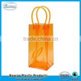 China Supply Hot Sale Plastic Colorful PVC Ice Wine Cooler Packing Bag