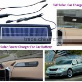Top Quality portable solar panel charger,Wholesale Factory solar panel car charger battery
