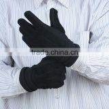 Wholesale Price Men's Pig Suede and knitted leather Gloves with low price