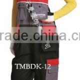 2015 new style flame retardant with high quality adult group bib pants alibaba wholesale