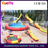 new design inflatable pool with slide, inflatable floating water pool, inflatable pool for beach