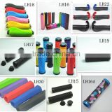 colorful double lockable syun-lp factory BMX MTB common use bicycle handlebar grips