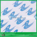 Sinicline 3D Emboss Feeling Silicone Heat Transfer Label For Bag and Clothing