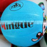 size 1custom small rubber basketball for kids