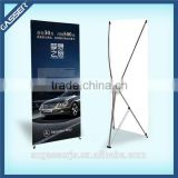 Factory supply aluminium fibre pole X stand banner models