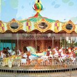 36-seat Amusement park equipment carousel