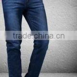 Jeans for men Men's four routine straight jeans Black and blue Business leisure self-cultivation loose code