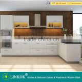wholesale price cheap china factory directly innovative modern white lacquer kitchen cabinet