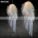 White Feather Bedroom Decor Indoor Pendant Light, Lighting Pendants for Restaurants MD2404