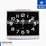 Home Decoration Plastic Digital Clock Home Decor With Power Sweep Movement And Snooze Function For Modern Family Kid's Using