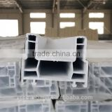 U-shaped pvc plastic profile, China plastic pvc profile, extruded upvc profile for pvc casement window and door