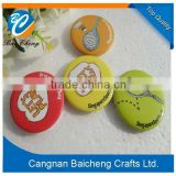 colourful cute custom pin button badge with paper logo printing as popular promotion gift for advertising in hot sale                                                                         Quality Choice