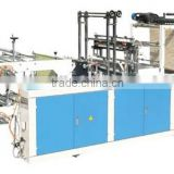 Rolls-Connecting &Dots-Severing high quality complex type t-shirt bag making machine (LDFD-500)