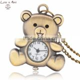Alloy Antique Pocket Watch for bear Style