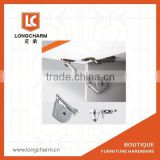 up-turn kitchen cupboard hinges types folding door support cabinet damper hinge from Guangzhou furniture hardware