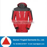 Waterproof & Wind-resistant Men's 3 in 1 Outdoor Jacket with fleece inner men winter jacket