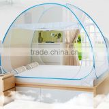 High quality wholsale 100% polyester free standing pop up bed mosquito net tent
