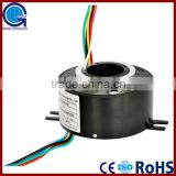 6 ring /10A/15A cable reel slip ring Through Bore Slip Ring                                                                         Quality Choice