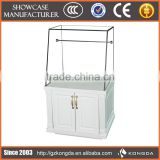 Supply all kinds of flooring display rack,acrylic stair step display,acrylic clutch bag display