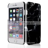For iPhone 6/6S case Black Marble Pattern Slim Fit Snap On Protective Hard Shell Back Case                                                                         Quality Choice