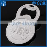 metal factory china custom metal bottle opener for promotion advertising
