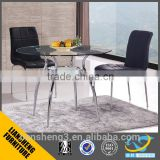 General used dining chair Dining room furniture pu leather chair with iron legs
