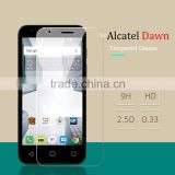 PROMOTION for Alcatel Dawn 5027 High Quality Transparent Screen Film Tempered Glass Protector in Mobile Phone Screen