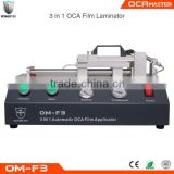 OCAmaster iPhone Broken Glass Replacing Machine OCA Laminating Machine