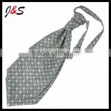 wholesale fashion mens polyester ascot tie 007
