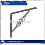 Simple Wrought Iron Shelf Brackets