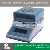 Jinnuo digital halogen moisture 20g 1mg analyzer moisture meter