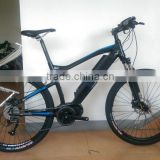 fat tire electric bicycle with bafang max central motor system 36V 350W for North American market