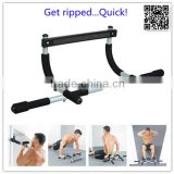 China factory wholesale fitness equipment indoor and outdoor pull up bar with steel tube