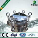 stainless steel aqua bag filter Housing Industrial water treatment plant Bag filter housing