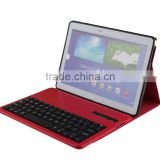 Professional CE ROHS bluetooth keyboard portable with high quality for Samsung NOTE 10.1inch P600/T520-SA206F
