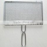 High quality woven/crimped Barbecue Wire Mesh Low carbon steel wire, stainless steel wire